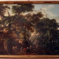 Hubert robert, capriccio con sepoltura di una cadavere, 1750-1800 ca - Sailko - Ferrara (FE)