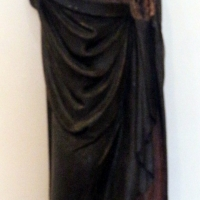 Intagliatore del xiv secolo, sant'antonio abate - Sailko - Ferrara (FE)