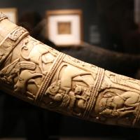 Italia meridionale (forse), olifante detto corno di orlando, xi secolo ca. (tolosa, museo paul-dupuy), 03 - Sailko - Ferrara (FE)