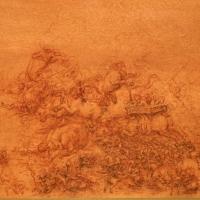 Leonardo da vinci, battaglia fantastica con cavalli, 1515-18 ca. (royal collections) 03 - Sailko - Ferrara (FE)