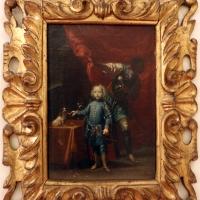 Luigi crespi (attr.), ritratto di bambino con servitore di colore - Sailko - Ferrara (FE)