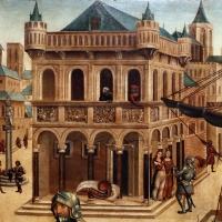 Maestro dei cassoni campana, teseo e il minotauro, 1510-15 ca. (avignone, petit palais) 03 - Sailko - Ferrara (FE)