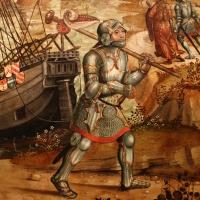 Maestro dei cassoni campana, teseo e il minotauro, 1510-15 ca. (avignone, petit palais) 06 - Sailko - Ferrara (FE)