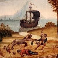 Maestro dei cassoni campana, teseo e il minotauro, 1510-15 ca. (avignone, petit palais) 07 centauro assale naviganti - Sailko - Ferrara (FE)