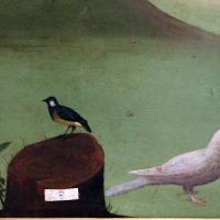 Maestro della maddalena assunta, ascensione di maria maddalena, 1500-10 ca., da s. andrea a ferrara 03 uccelli - Sailko - Ferrara (FE)