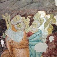 Maestro di san bartolomeo, ascensione, apostoli, storie di s. bartolomeo ed evangelisti, da s. bartolomeo a ferrara, 1264-90 ca. 08 - Sailko - Ferrara (FE)