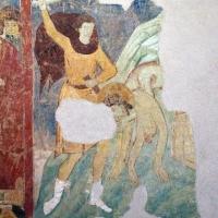 Maestro di san bartolomeo, ascensione, apostoli, storie di s. bartolomeo ed evangelisti, da s. bartolomeo a ferrara, 1264-90 ca. 22 - Sailko - Ferrara (FE)