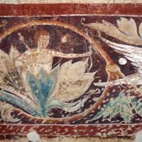 Maestro di san bartolomeo, ascensione, apostoli, storie di s. bartolomeo ed evangelisti, da s. bartolomeo a ferrara, 1264-90 ca. 24 girali - Sailko - Ferrara (FE)