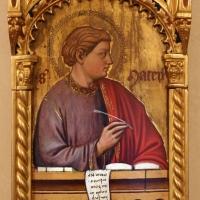 Maestro ferrarese, quattro evangelisti e san maurelio, 1390 ca. 02 matteo - Sailko - Ferrara (FE)