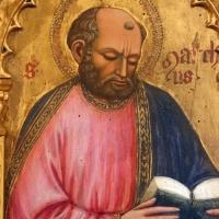 Maestro ferrarese, quattro evangelisti e san maurelio, 1390 ca. 06 marco - Sailko - Ferrara (FE)