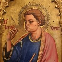 Maestro ferrarese, quattro evangelisti e san maurelio, 1390 ca. 08 giovanni - Sailko - Ferrara (FE)
