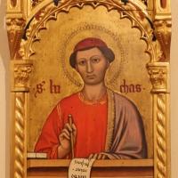 Maestro ferrarese, quattro evangelisti e san maurelio, 1390 ca. 10 luca - Sailko - Ferrara (FE)
