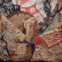 Manifattura fiamminga (prob. tournai), arazzo con la battaglia di roncisvalle, 1475-1500 ca. (v&a) 02 - Sailko - Ferrara (FE)
