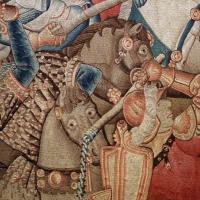 Manifattura fiamminga (prob. tournai), arazzo con la battaglia di roncisvalle, 1475-1500 ca. (v&a) 03 - Sailko - Ferrara (FE)
