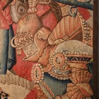 Manifattura fiamminga (prob. tournai), arazzo con la battaglia di roncisvalle, 1475-1500 ca. (v&a) 04 - Sailko - Ferrara (FE)
