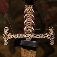 Manifattura franco-italiana (elsa) e lama di piero antonio cataldo, spada di francesco I, 1505-10 (parigi, musée de l'armée) 02 - Sailko - Ferrara (FE)