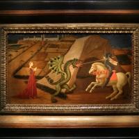 Paolo uccello, san giorgio e il drago, 1440 ca. (jacquemart-andré) 01 - Sailko - Ferrara (FE)