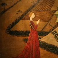 Paolo uccello, san giorgio e il drago, 1440 ca. (jacquemart-andré) 03 - Sailko - Ferrara (FE)