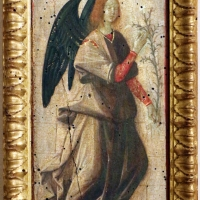 Pittore ferrarese o romagnolo, arcangelo gabriele, stigmate di s. francesco, natività e san giorgio col drago, 1510 ca. 01 - Sailko - Ferrara (FE)