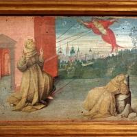 Pittore ferrarese o romagnolo, arcangelo gabriele, stigmate di s. francesco, natività e san giorgio col drago, 1510 ca. 03 - Sailko - Ferrara (FE)