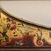 Pittore ferrarese, cassa di clavicembalo con grottesche a tema dionisiaco, 1550-1600 ca. 01 - Sailko - Ferrara (FE)