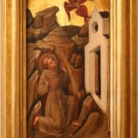 Pittore veneziano, san francesco riceve le stigmate, 1350 ca - Sailko - Ferrara (FE)