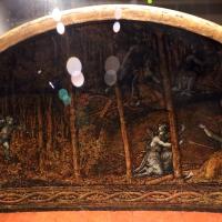 Polidoro da caravaggio, rotella da parata con assedio di cartagena e episodio di diana atteone, 1525-27 ca. (palazzo madama, to) 04 - Sailko - Ferrara (FE)