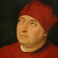 Raffaello, ritratto di tommaso inghirami detto fedra, 1510 ca. (fi, palatina) 02 - Sailko - Ferrara (FE)