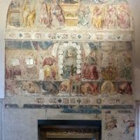 Serafino de' serafini, allegoria di sant'agostino come maestro dell'ordine, 1361-93 ca, da s. andrea a ferrara 01 - Sailko - Ferrara (FE)