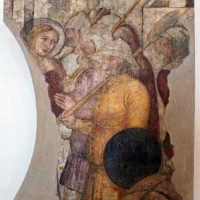 Serafino de' serafini, santa dorotea condotta al martirio, da s. andrea a ferrara, 1350-90 ca - Sailko - Ferrara (FE)
