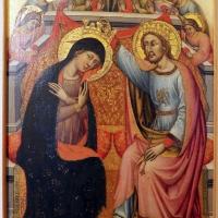 Simone dei crocifissi, incoronazione della vergine, 1355-90 ca., firmato - Sailko - Ferrara (FE)