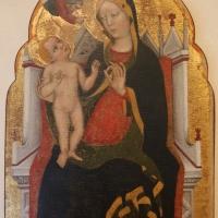 Zanino di pietro (giovanni charlier di francia), madonna in trono col bambino, 1390-1410 ca - Sailko - Ferrara (FE)