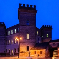Mesola - Castello Estense nell'ora blu - Vanni Lazzari - Mesola (FE)