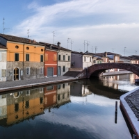 Riflessi - Ponte San Pietro - Vanni Lazzari - Comacchio (FE)