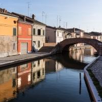 Vista del Ponte di San Pietro - Centro Storico di Comacchio - Vanni Lazzari - Comacchio (FE)