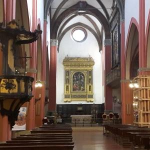 Complesso conventuale di S. Martino Maggiore - Navata foto di:  Centro Culturale San Martino  - Fiorella Dallari