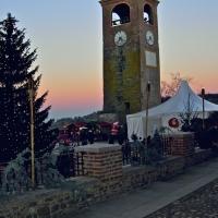 Castelvetro Torre dell'Orologio al tramonto - Caba2011 - Castelvetro di Modena (MO)