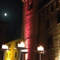 Torre delle prigione con luna e candele - Andrea.ramini - Castelvetro di Modena (MO)