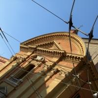 Chiesa di San Domenico a Modena e fili tram - Matteolel - Modena (MO)