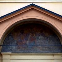 Dettaglio dell'affresco della porta - Massimiliano Marsiglietti - Modena (MO)