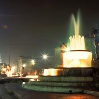 Fontana dei due fiumi notturna modena - Marco Obici - Modena (MO)