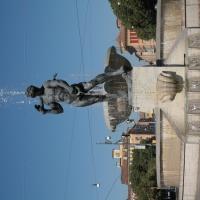 Fontana dei due fiumi - Panaro - Luce&nebbia - Modena (MO)