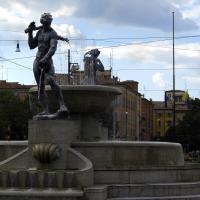 Fontana dei due fiumi e Ghirlandina - Matteolel - Modena (MO)