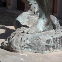 Fontana della Ninfa (dettaglio) - Luce&nebbia - Modena (MO)
