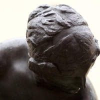 Fontana della ninfa (dettaglio della testa, anteriore) - Massimiliano Marsiglietti - Modena (MO)