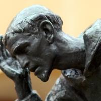 Viso della statua di S.Francesco - Massimiliano Marsiglietti - Modena (MO)