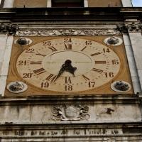 Modena, Palazzo Comunale, particolare della Torre dell'Orologio. - Makuto72 - Modena (MO)