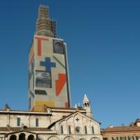 Ghirlandina anno 2008 inizio restauro - Frinza - Modena (MO)