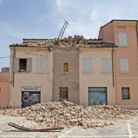 Resti della torre dell' orologio a Novi di Modena - Marzia Lodi - Novi di Modena (MO)