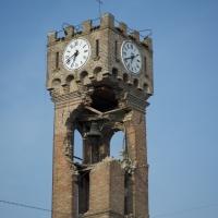 Torre civica dopo il 29maggio - B.elena - Novi di Modena (MO)